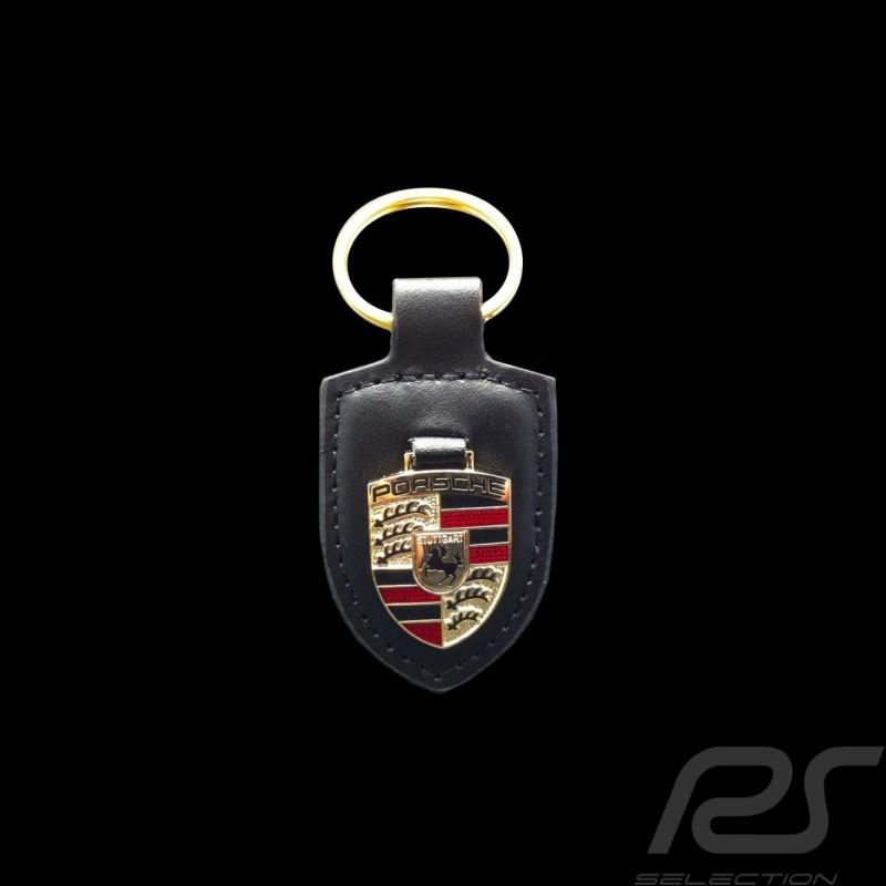 Porsche Porte-cl/és avec /écusson Porsche Rouge