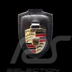 Porsche Schlüsselanhänger Wappen Schwarz