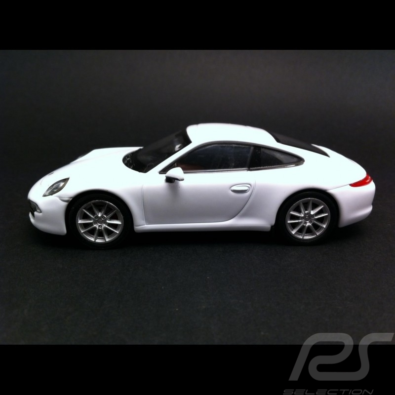 Porsche 991 Carrera S white 1/43 Welly MAP01994414