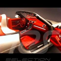 Porsche Boxster S 981 2012 grey 1/18 Minichamps 110062030