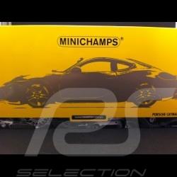 Porsche Cayman 2013 yellow 1/18 Minichamps 110062220