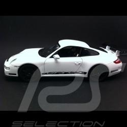 Porsche 997 GT3 RS weiß / schwarz 1/18 Welly 18015W