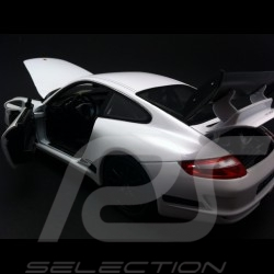 Porsche 997 GT3 RS white / black 1/18 Welly 18015W