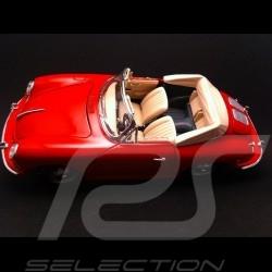 Porsche 356 B Cabriolet 1961 red 1/18 Burago 12025