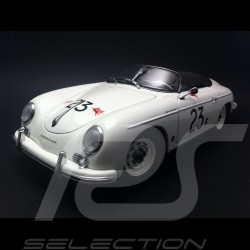 Porsche 356 A Speedster white n° 23F 1/18 Autoart 77865