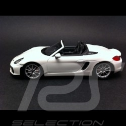 Porsche Boxster Spyder 981 2015 blanc 1/43 Spark WAP0202120F