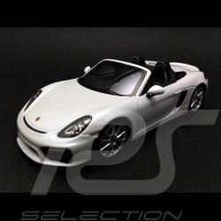 Porsche Boxster Spyder 981 2015 weiß 1/43 Spark WAP0202120F