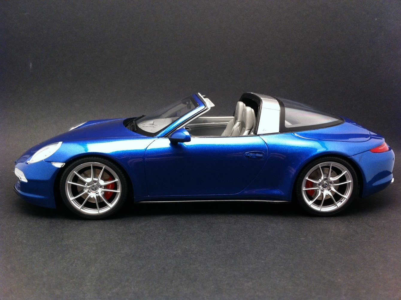 Porsche 991 Targa 4s Bleu 1 18 Gt Spirit Gt037 Selection Rs