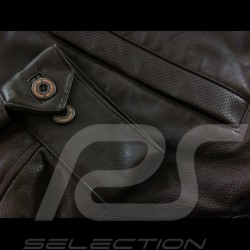 Jacket Porsche Steve McQueen leather Porsche Design WAP942 - men