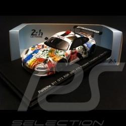 Porsche 997 GT3 RSR Prospeed Le Mans 2014 n° 75 1/43 Spark S4233