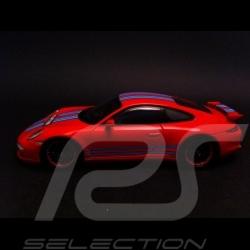Porsche 991 Carrera 4S Martini rot 1/43 Spark MAP02020315