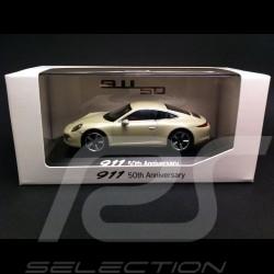 "Porsche 991 "" 50 ans Anniversaire "" gris 1/43 Welly MAP01999113"