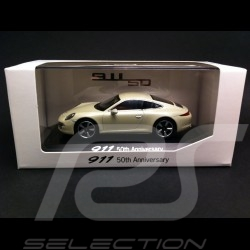 "Porsche 991 "" 50th Anniversary "" grey 1/43 Welly MAP01999113"