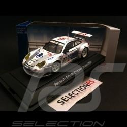 Porsche 911 typ 996 GT3 RSR Platz 2 Le Mans 2004 n° 77 1/43 Ebbro 600