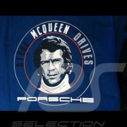 T-shirt Herren STEVE MCQUEEN PORSCHE DESIGN WAP816