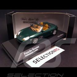 Porsche Boxster 986 2002 grün 1/43 Minichamps 400062034