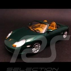 Porsche Boxster 986 2002 vert 1/43 Minichamps 400062034