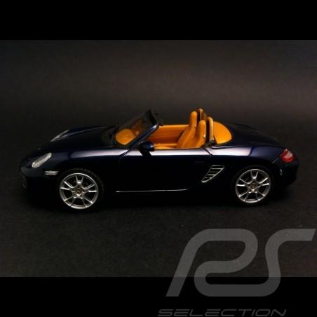 Porsche Boxster 987 bleu 1/43 Schuco 04702