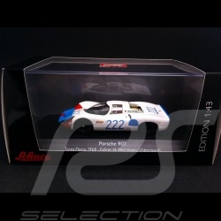 Porsche 907 KH Targa Florio 1968 n° 222 1/43 Schuco 450362200