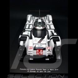 Porsche 919 Hybrid Le Mans 2014 n° 14 1/18 Spark 18S145