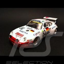 Porsche 993 Bi - Turbo Le Mans 1995 n° 54 1/43 Spark S0993