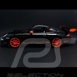 Porsche 911 type 997 GT3 RS black / orange 1/18 Welly 18015