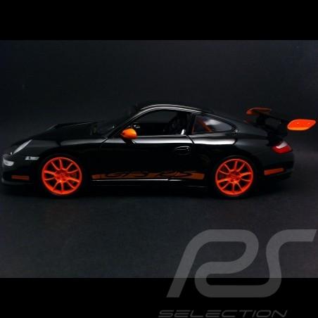 Porsche 911 type 997 GT3 RS schwarz / orange 1/18 Welly 18015