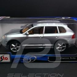 Porsche Cayenne Turbo Exclusive gris 1/18 Maisto 31113