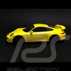 Porsche 991 GT3 2013 jaune 1/43 Minichamps 410062021