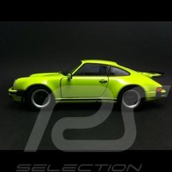 Porsche 911 Turbo 1975 vert lumineux 1/24 Welly MAP02493014