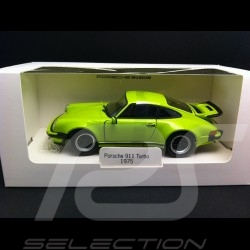 Porsche 911 Turbo 1975 vert lumineux 1/24 Welly MAP02493014