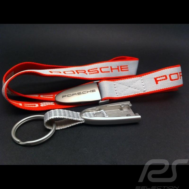 Schlüsselband Porsche rot / grau Porsche Design WAP0502100E