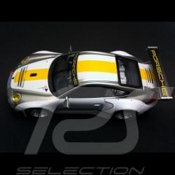 Porsche 997 GT3 RSR 2012 blanche 1/43 Norev WAP0201150D