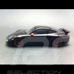 Porsche 991 Carrera S Porsche Exclusive schwarz 1/43 Spark WAX20130024