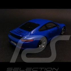 Porsche 991 GTS Club Coupé bleue 1/43 Spark WAX02020001