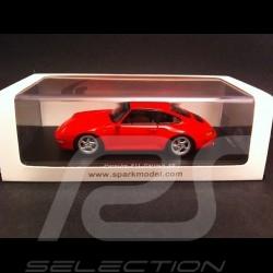 Porsche 993 Carrera 4S rot 1/43 Spark PD04311014