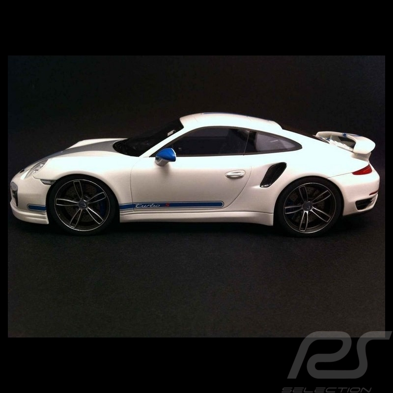 Porsche 991 Turbo S Techart white 1/18 GT Spirit GT049