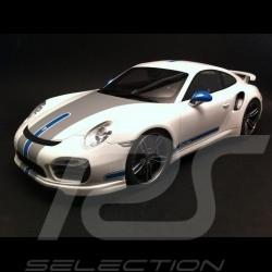 Porsche 991 Turbo S Techart blanche 1/18 GT Spirit GT049