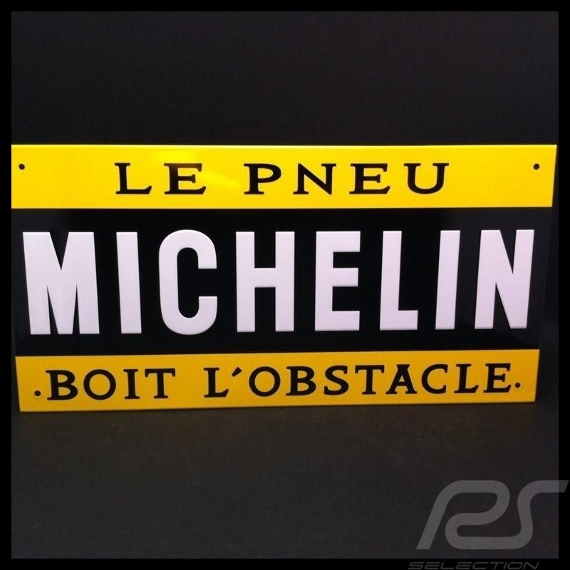 """Plaque émaillée """" Le Pneu Michelin """" Emailleschild """"Michelin Reifen"""" Enamel plate """"Michelin Tyres"""""""