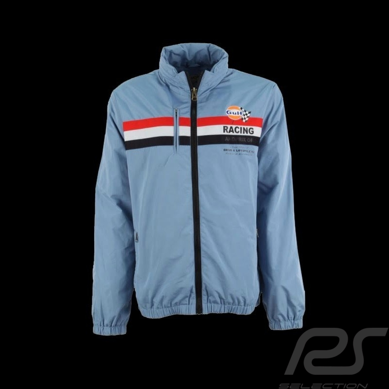 Men's jacket Gulf Racing light blue