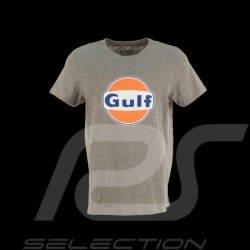 T-shirt logo Gulf cortina grey - Men