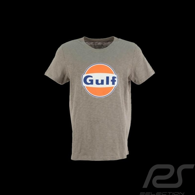 Tee-shirt homme logo Gulf cortina grey T-SHIRT MEN HERREN