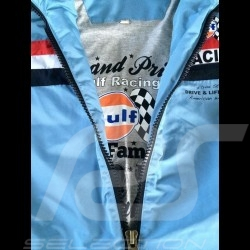 Herren jacke Gulf Racing hellblau