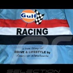 Veste homme Gulf Racing bleu clair
