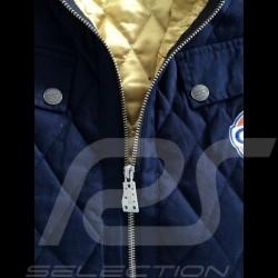 Blouson matelassé homme Gulf bleu marine Men's quilted jacket Gulf navy blue Herren Steppjacke Gulf marineblau