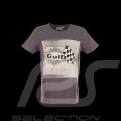 Men's T-shirt Gulf Racing flag grey