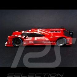 Porsche 919 Hybride Le Mans 2015 n° 919 rouge 1/43 Spark WAP0205000F