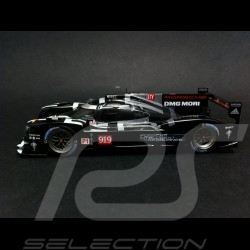 Duo Porsche 919 Hybrid Le Mans 2015 n° 919 rot / schwarz 1/43 Spark WAP0205000F WAP0205020F