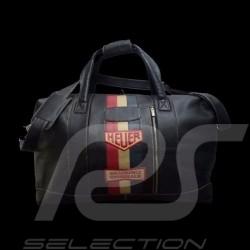 Grand sac de voyage Gulf cuir noir Big Travel bag leather black Grossen Reisetasche Leder schwarz