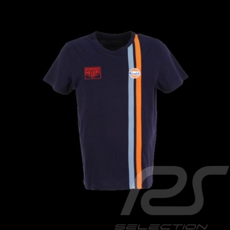 Herren T-shirt Gulf Racing marineblau